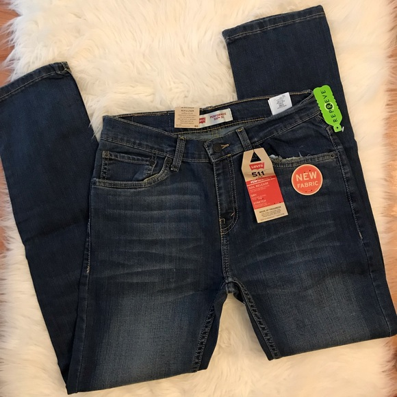 Levi's Other - Boys Levi's Performance 511 Slim 18 29 x 29 NWT